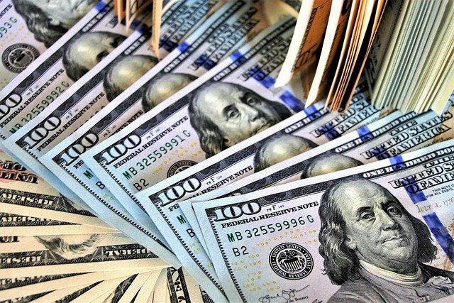 dolary w banknotach