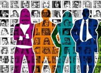 kolorowi ludzie