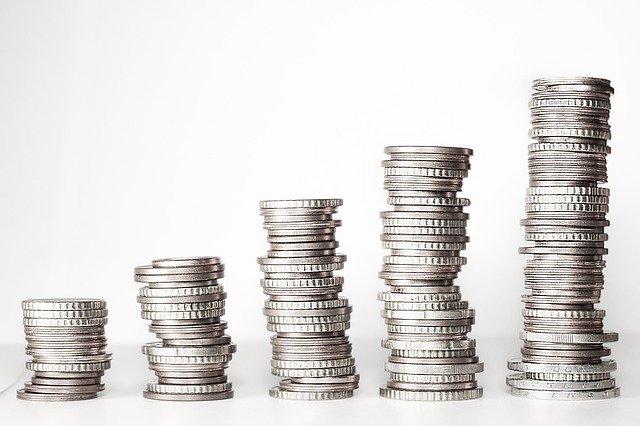monety pieniadze srebrne